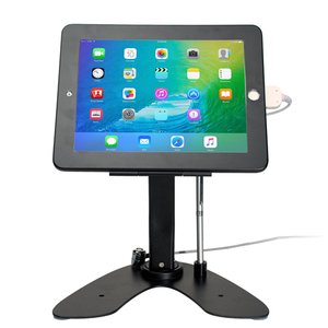 CTA Digital Dual Security Kiosk Stand with Locking Case and Cable