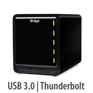 Drobo 5D: 5-Bay Storage Array - Add your own hard drives.
