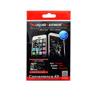 Dynaflo Liquid Armor Invisible Screen Protector with Nano Technology - Disposable Single