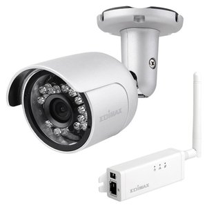 Edimax IC-9110W HD Wi-Fi Mini Outdoor Network Camera with 139° Wide Angle View, Day & Night