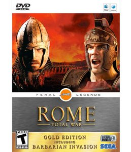 Rome: Total War: An epic-scale strategy game. Rated 'T' for Teen.
