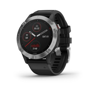 Garmin fēnix® 6 Adventure GPS Smartwatch - Silver/Black