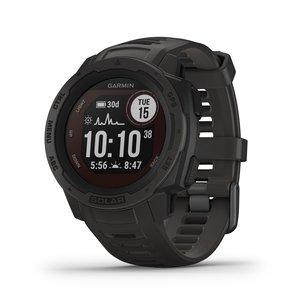 Garmin Instinct® Solar GPS Adventure Smartwatch - Graphite