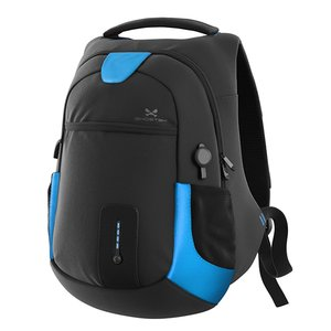Ghostek NRGbag - Blue, Laptop Backpack with Battery System