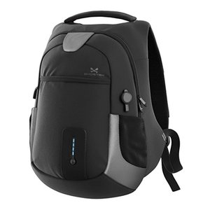 Ghostek NRGbag - Gray, Laptop Backpack with Battery System