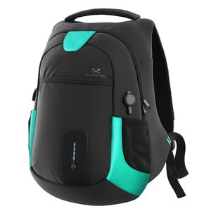 Ghostek NRGbag - Teal, Laptop Backpack with Battery System