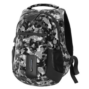 Ghostek NRGbag - Gray Camo, Laptop Backpack with Battery System