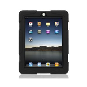 (*) Griffin Technology Survivor Military-Duty Case for iPad 2nd, 3rd & 4th Generation. Black Color.