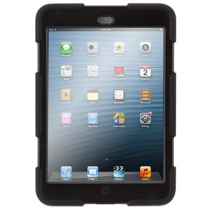 Griffin Technology Survivor Military-Duty Case for iPad mini. Black Color.