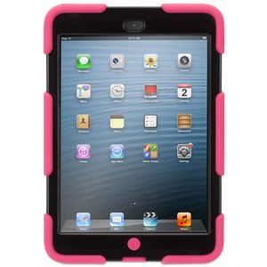 (*) Griffin Technology Survivor Military-Duty Case for iPad mini. Pink/Black Color.