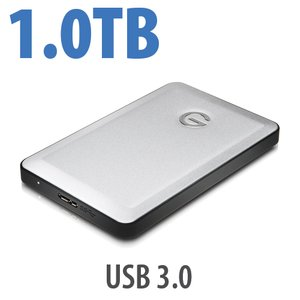 1.0TB G-Technology G-DRIVE mobile USB