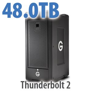 G-Technology 48.0TB G-SPEED Shuttle XL Thunderbolt 2 Storage Solution