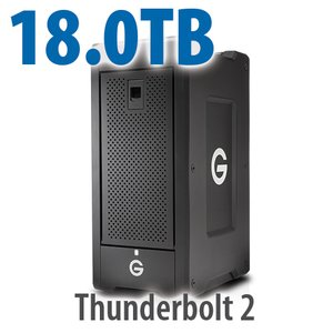 G-Technology 18.0TB G-SPEED Shuttle XL Thunderbolt 2 Storage Solution with ev Series Bay Adapters