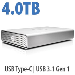 4.0TB G-Technology G-DRIVE USB-C
