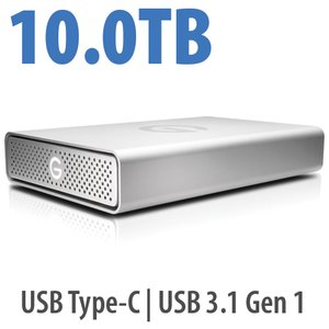 10.0TB G-Technology G-DRIVE USB-C