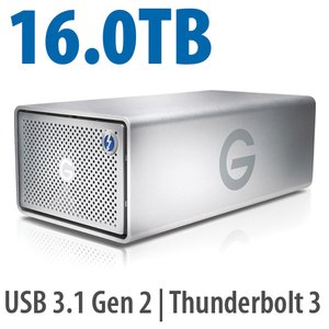G-Technology 16.0TB G-RAID with Thunderbolt 3