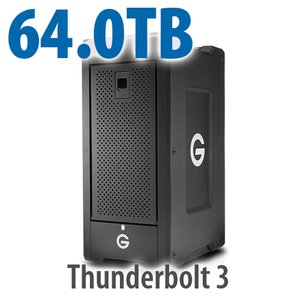 G-Technology 64.0TB G-SPEED Shuttle XL with Thunderbolt 3