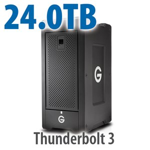 G-Technology 24.0TB G-SPEED Shuttle XL with ev Series Bay Adapters