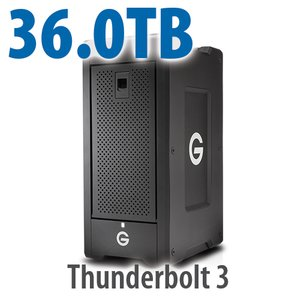 G-Technology 36.0TB G-SPEED Shuttle XL with ev Series Bay Adapters