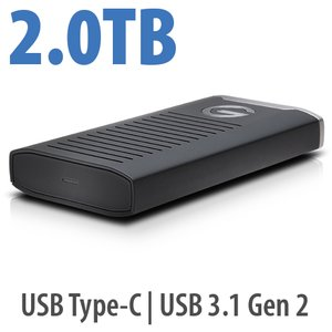G-Technology 2.0TB G-DRIVE mobile SSD R-Series