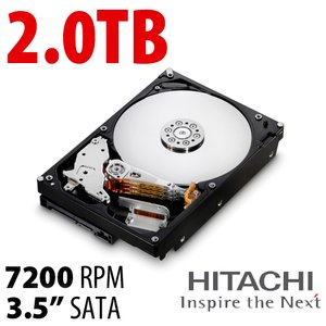 (*) 2.0TB HGST Ultrastar 7K3000 3.5-inch SATA 6.0Gb/s 7200RPM Enterprise Class Hard Drive