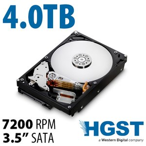 4.0TB HGST NAS 7200RPM<BR>High-Performance w/128MB