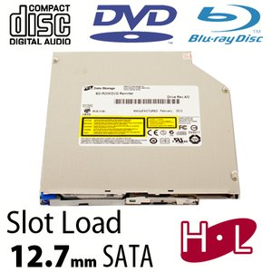 Hitachi-LG 6X Blu-ray Reader + Super-MultiDrive DVD/DVD DL/CDRW Read/Write - Serial-ATA Internal