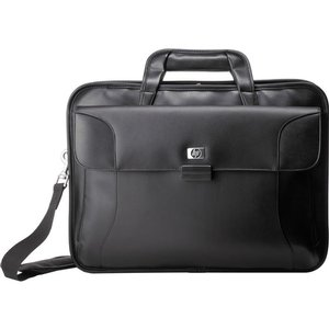 "HP Black 17"" Executive Leather Notebook Case"