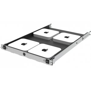 H-Squared Mini Rack Access Server Shelf for Mac mini