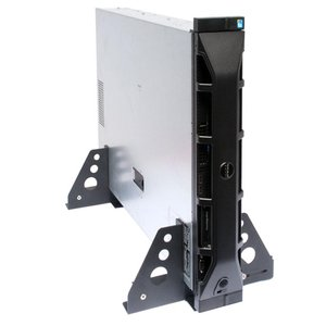 RackSolutions Rack-to-Tower Universal 1U-2U Stand. Mount a 1U - 2U server / rack storage on its side