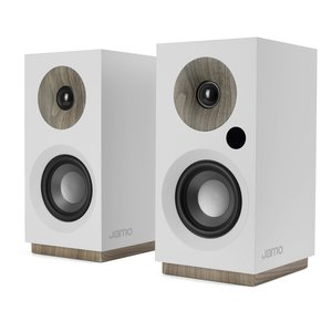 Jamo S 801 PM Powered Monitor Speakers (Pair) - White