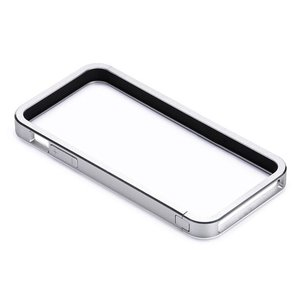 Just Mobile AluFrame: Aluminum bumper for the iPhone 5. Silver Color