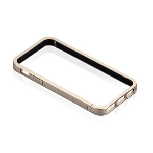 Just Mobile AluFrame: Aluminum bumper for the iPhone 5. Gold Color