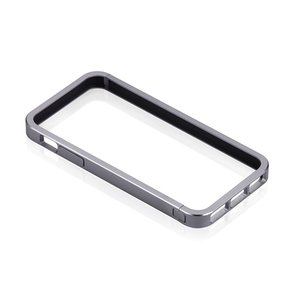Just Mobile AluFrame: Aluminum bumper for the iPhone 5. Grey Color