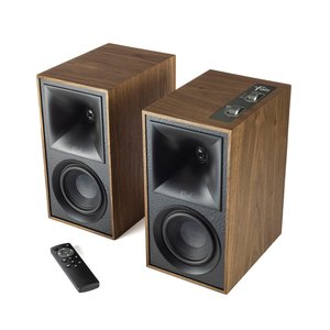 Klipsch The Fives Powered Speaker System - Walnut