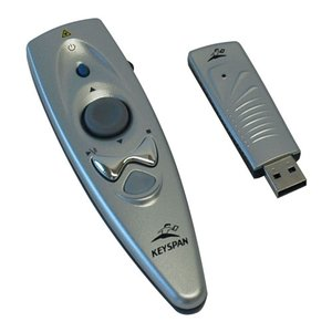 Keyspan Presentation Remote W/ Laser Pointer - RF Connectivity, 40' Range