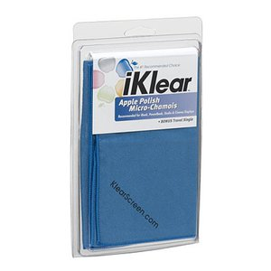 "iKlear Screen Micro-Chamois Polishing Cloth. 16"" x 16"""