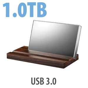 1.0TB LaCie Mirror External Drive - USB 3.0 Interface