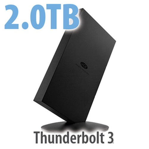 2.0TB LaCie Bolt3 Professional SSD Storage - Thunderbolt 3 Interface
