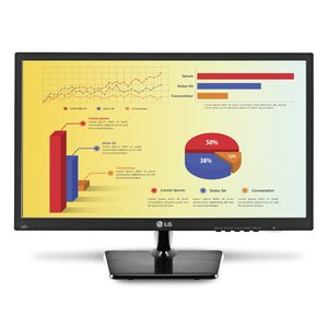 "LG 23.5"" Widescreen Monitor Smart Energy Saving LED Monitor"