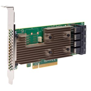 (*) LSI SAS 9305-16I 12Gb/s SAS PCIe Host Bus Adapter.