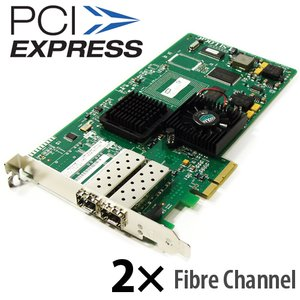 (*) LSI LSI7202EP Logic Dual Channel 2Gb/s Fibre Channel PCIe Host Bus Adapter
