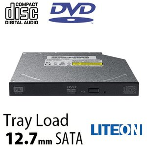 Lite-On 8X 12.7mm DVD/CD Writer Internal SATA Optical Drive