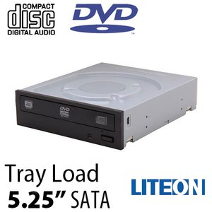 "Lite-On 24x Internal 5.25""SATA Optical Drive DVD/CD Writer"