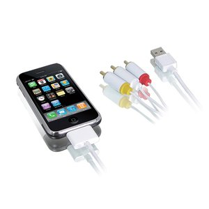 iPhone & iPod AV/Charge/Sync Cbl