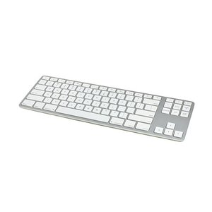 Matias Wired Aluminum Tenkeyless Keyboard-Silver