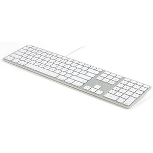 Matias Wired Aluminum Keyboard - Silver