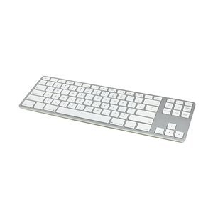 Matias Wireless Aluminum Tenkeyless Keyboard - Silver