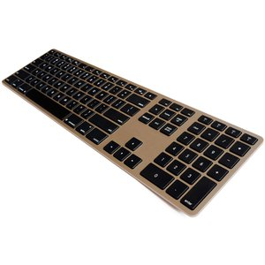 Matias Wireless Aluminum Keyboard - Gold
