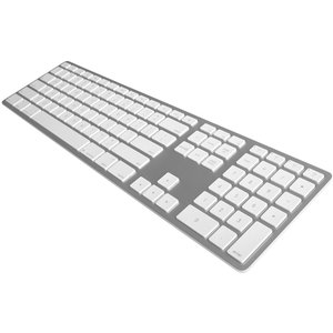 Matias Wireless Aluminum Keyboard - Silver